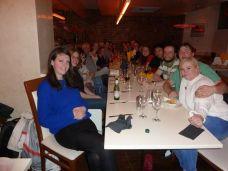 Post Get-In Dinner in Harrogate, UniFest 2014