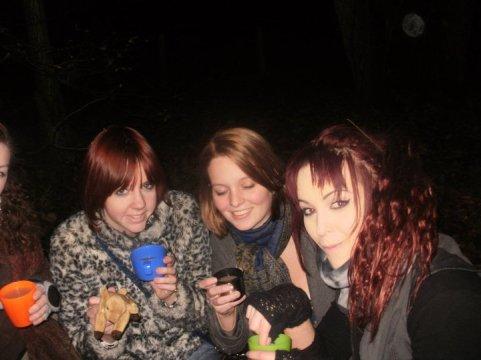 Weekend away 2010 - Enjoying the teddybears picnic during the treasure hunt