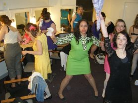 Sorcerer - Behind the scenes - General insanity in the girls dressing room