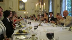 Summer ball 2011 - Dinner is served