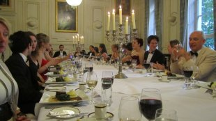 Summer ball 2011 - Dinner is served