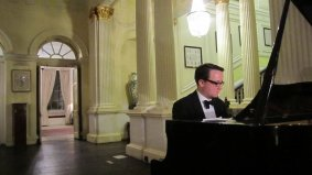 Summer ball 2011 - Tony woos everyone with his musical skills
