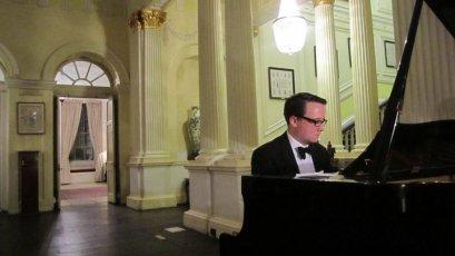 Summer ball 2011 - Tony woos everyone with his musical skills