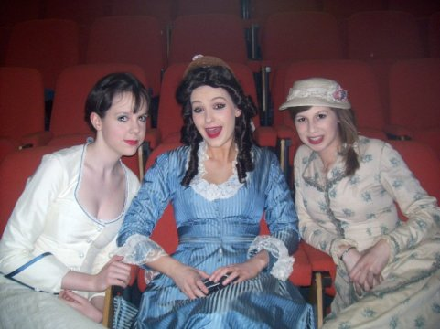 Behind the scenes - Pirates of Penzance