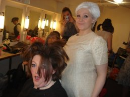 Sorcerer - Behind the scenes - LJ is the mistress of the crazy hair