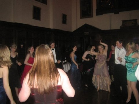 Summer ball 2009 - LJ and Dave show off their moves