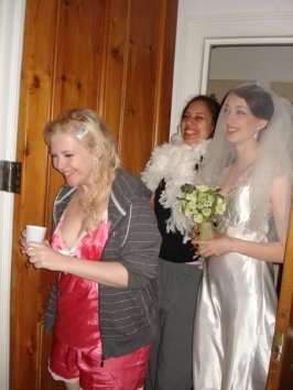 Summer ball 2009 - After-party-party - The infamous after-ball wedding. The bride and her maids