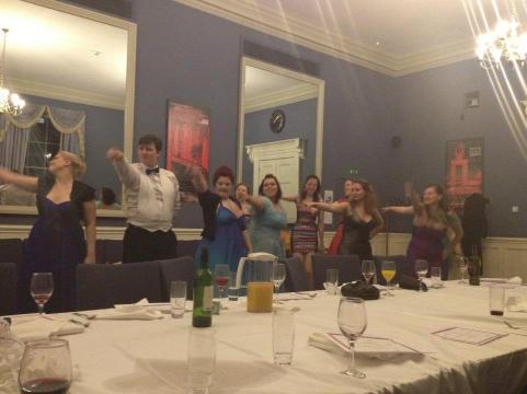 Summer ball 2012 - Dancing breaks out after dinner
