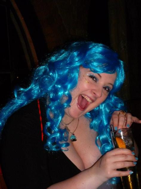 Iolanthe launch party - Rebecca loves the fairy theme