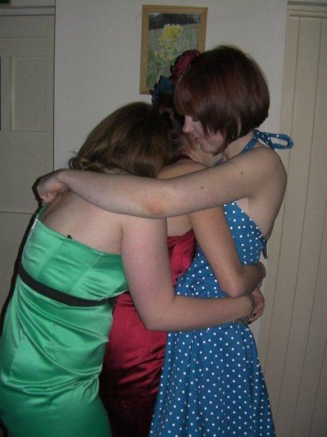 Weekend away 2010 - Group hug